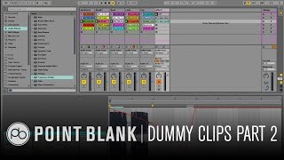 Ableton Live Tutorial - Using Dummy Clips Part 2: Triggering Effects