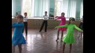 Разминка в клубе спортивного бального танца Павлодар