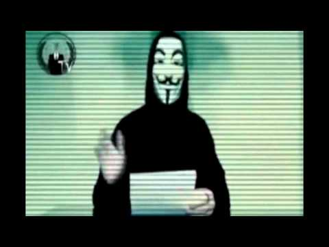 Anonymous - Message and attacks to Greek media