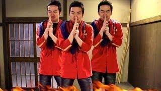 餓死寸前の男が富裕層にブチ切れる!! japanese ninja thumbnail