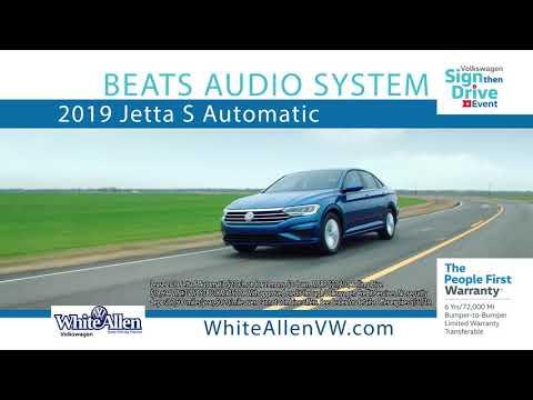 White-Allen Volkswagen- Sign Then Drive Event 2019