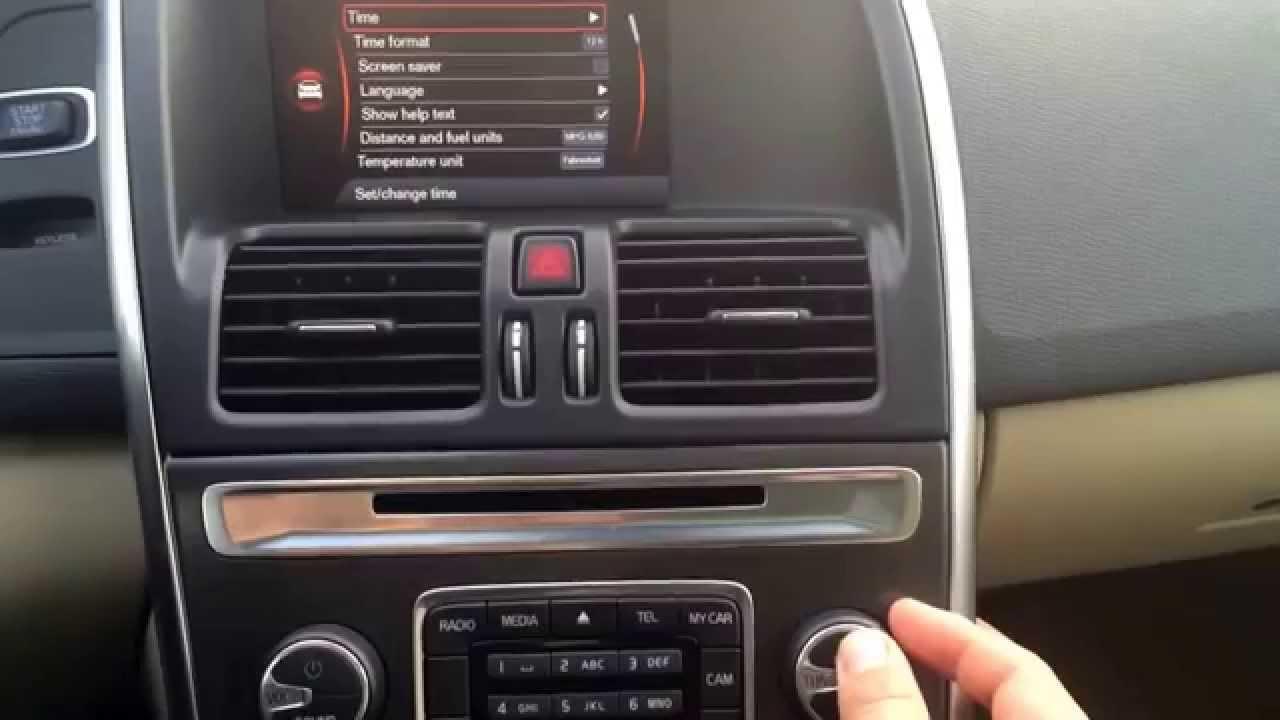 Volvo S60: Clock