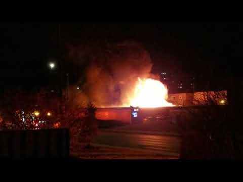 Parking Garage Fire in Bayshore (Accora Village) - Ottawa, Ontario