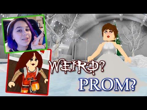 SALON and LOUNGE in ROBLOX | PROM and WEIRD