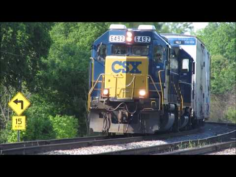 A RARE and Fun Day of Railfanning at Glendale, Ohio.