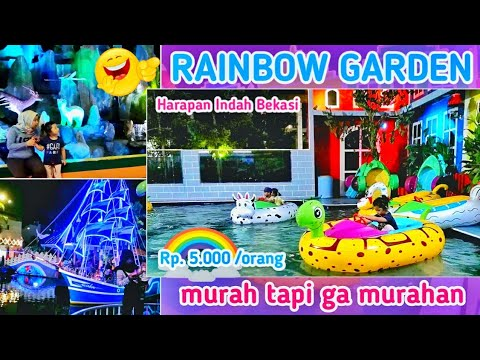RAINBOW GARDEN Harapan Indah - YouTube