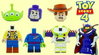Disney Pixar Toy Story 4 Lego Characters Lose Heads Thanks to Emperor Zurg!
