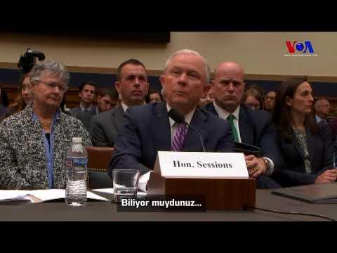 ABD Adalet Bakanına Gülen Sorusu