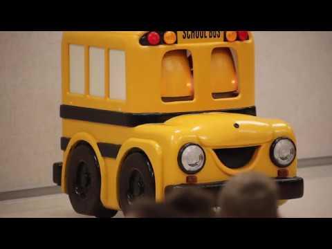 Buster the Talking School Bus visits Shawnee Heights Elementary School