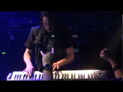 Bob Katsionis (Firewind) - Keyboard Solo - Live at Thessaloniki [16.12.2012] 1080p FullHD HQ
