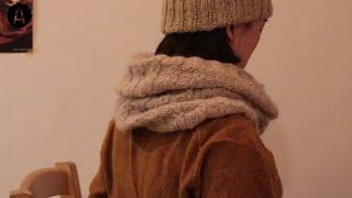 [낙스튜디오] 모크케이블 무늬 카울 만들기 / 대바늘 …