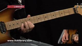 Love Gun - Guitar Solo Performance - Learn To Play Kiss DVD