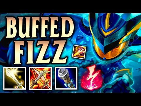 Reworked Fizz W and R Buffs! New Nashor's Tooth Jungle Build! - League of Legends S8