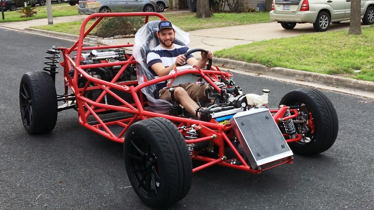 Df Kit Car >> First Drive Jsatx Goblin Chassis 29