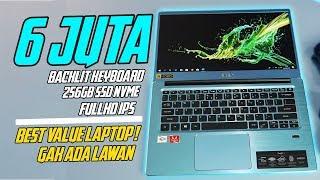 LAPTOP BUDGET 6  JUTA, RASA ULTRABOOK 15 JUTA | AUTO RACUN | Review Acer Swift 3 AMD Athlon 300U