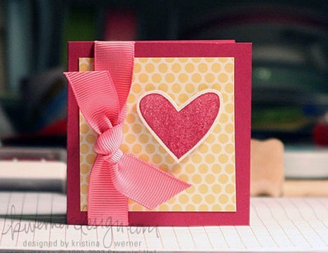 Easy Valentines Card Make a Card Monday 7 YouTube – Easy Valentine Card
