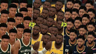What If The Top 30 NBA Players Had 15 Of Their Selves On Their Own Team? | NBA 2K20