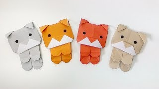 Origami dogs / พับน้องหมาขี้อ้อน