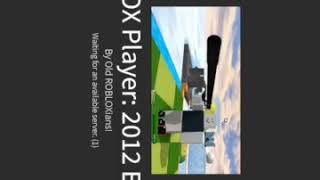 2012-2013 RobLOX Gameplay