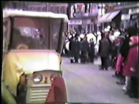 Kirkland Lake Ontario 1969 Winter Carnival Parade