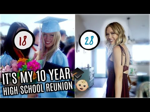 How I Look 10 YEARS YOUNGER for My 10 YEAR HIGH SCHOOL REUNION! | Step by Step Guide!
