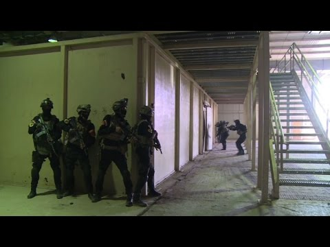 Iraq's special forces train for Mosul operation