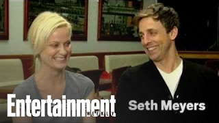 Saturday Night Live's Amy Poehler & Seth Meyers Inappropriate Photoshoot | Entertainment Weekly