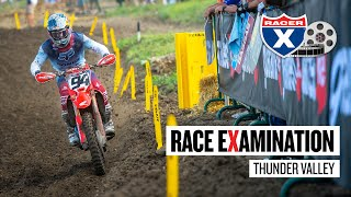 Ken Roczen's First Laps, Jeremy Martin's Injury, & More | Thunder Valley Race Examination