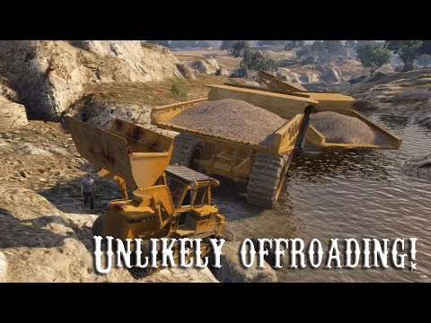 GTAV Online - ps3 - Unlikely Offroading Ep. 1, Follow the River!  - 11/8/13