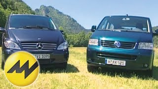 Mercedes Viano 220 CDI vs. VW T5 Multivan 2.5 TDI Der Van Vergleich