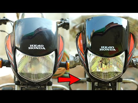 how-to-spray-clear-paint-on-bike-headlight