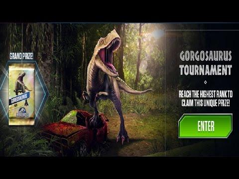 Gorgosaurus tournament! |Jurassic World the game|Episode Seventy|