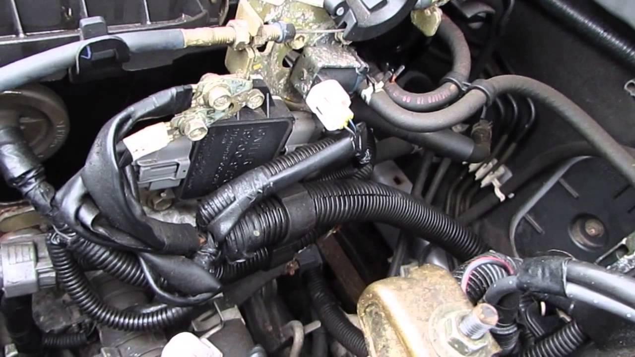 Daihatsu Charade 10 El Automatic 2003 Ej Ve Engine Youtube Yrv Turbo Wiring Diagram