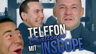 TELEFON CHALLENGE MIT INSCOPE :D
