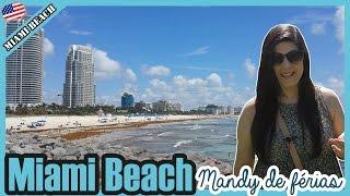 Praia em Miami Beach - Turismo nos Estados Unidos - O que fazer durante conexão em Miami?