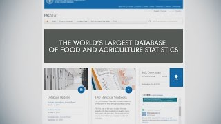 FAOSTAT: the world's largest database of food and agriculture statistics