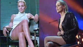 Шерон Стоун повторила легендарный эпизод из «Основного инстинкта» и стала женщиной года
