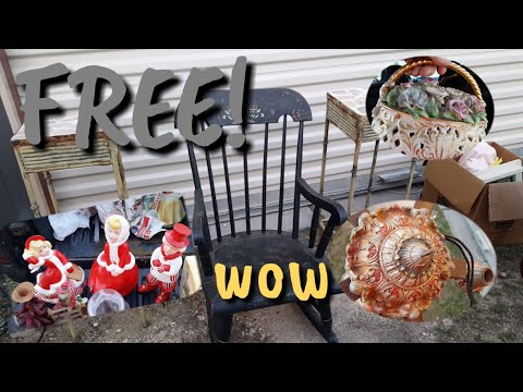 We got FREE Antiques, collectibles, and silver!
