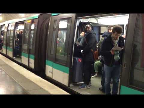 Paris Metro Cite Station Train # 4 Exit here for Notre Dame Cathedral