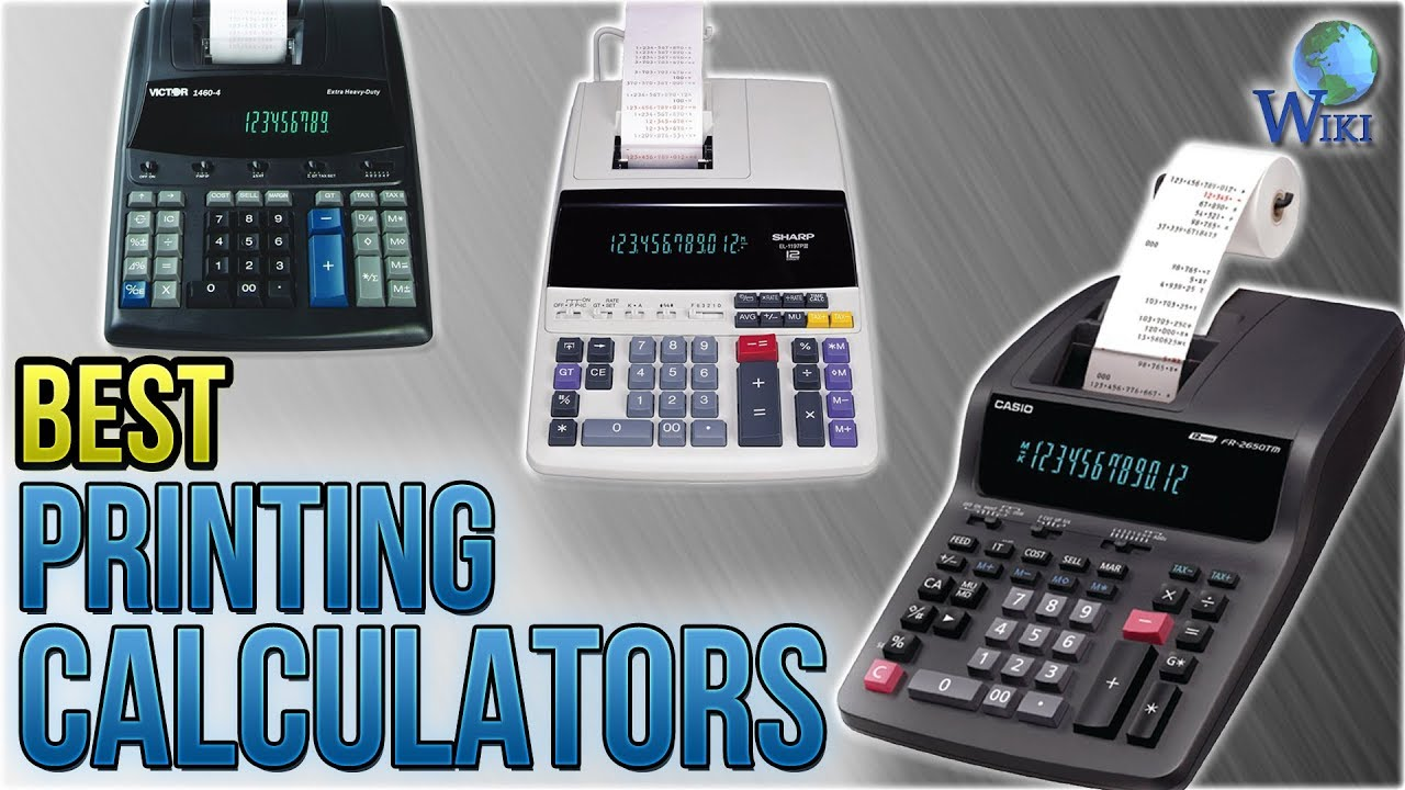 7 Best Printing Calculators 2018