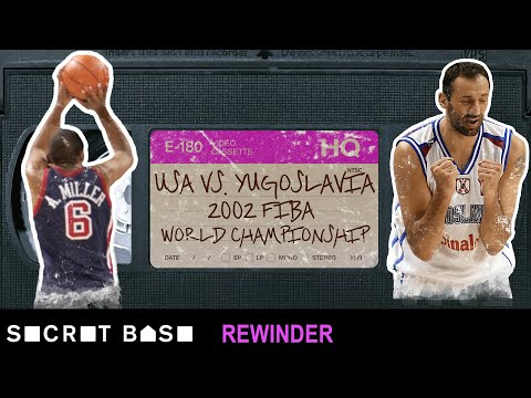 USA Basketball's shocking 2002 FIBA World Championship finish vs. Yugoslavia needs a deep rewind