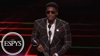 Donovan Mitchell wins Best Breakthrough Athlete | 2018 ESPYS | ESPN