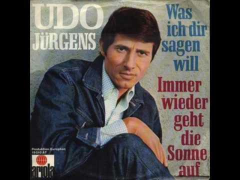 Udo Jurgens - Immer wieder geht die Sonne auf