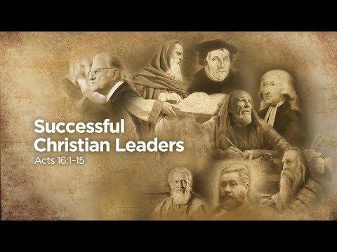 """Successful Christian Leaders"" | Pastor Steve Gaines"