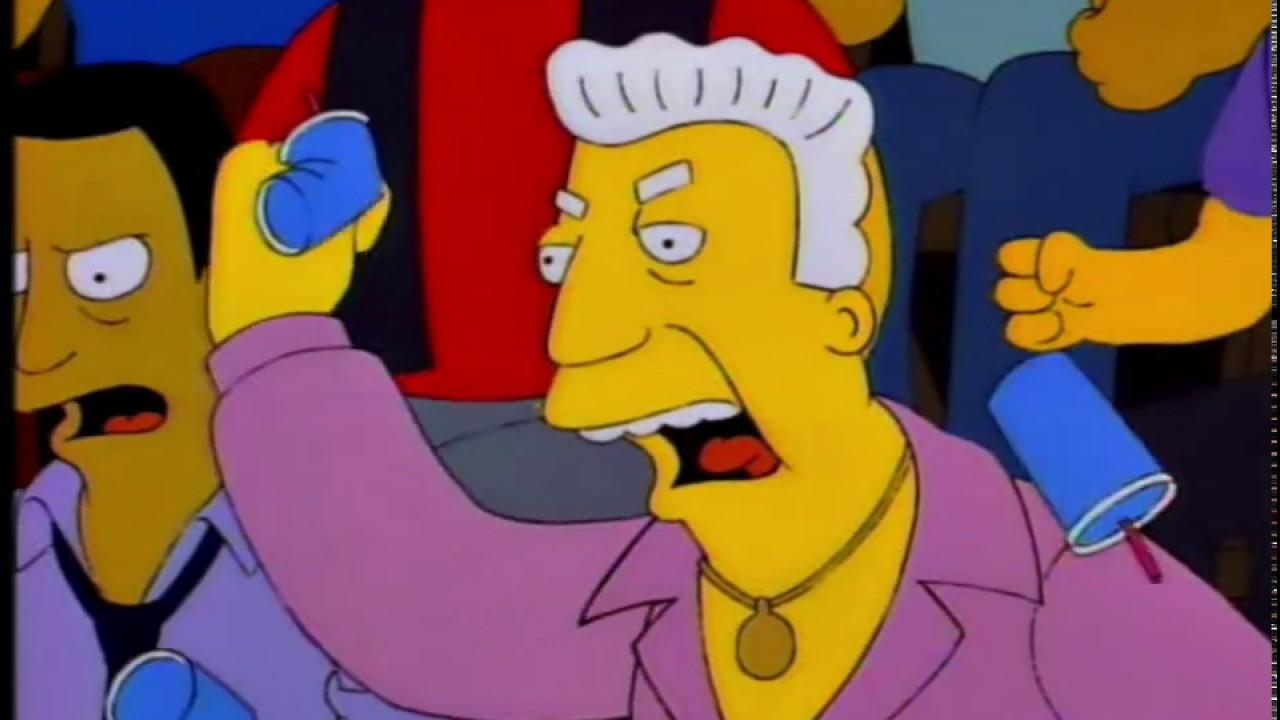 1812ee1d3de8 Homer Simpson Fights Drederick Tatum Part 2 - YouTube
