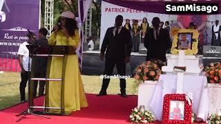 Alichokisema WEMA SEPETU Kwenye KUUAGA Mwili Wa PATRICK Mtoto Wa Muna Love Leaders Club