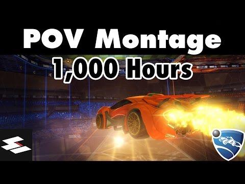 1000 Hours Freestyle Montage | Rocket League