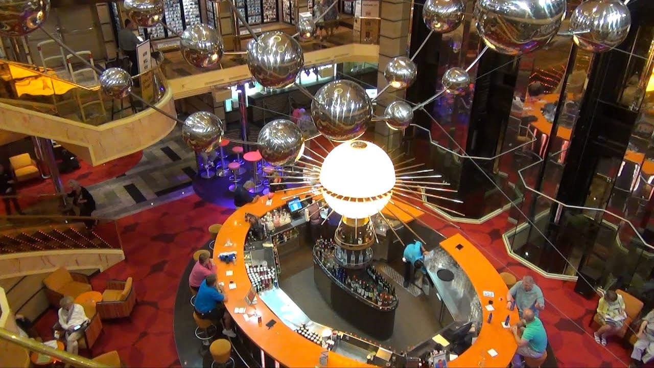 Carnival Sunshine Overview Part 1 Lobby Lounges Game