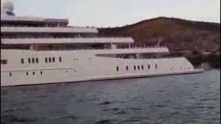 Yacht Eclipse in Dubrovnik Croatia