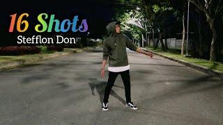 Stefflon Don - 16 Shots (Choreography) ZUMBA || DANCE || FITNESS || Balikpapan